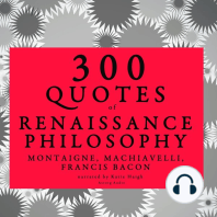 300 Quotes of Renaissance Philosophy