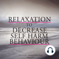 Relaxation to decrease self-harm behaviour