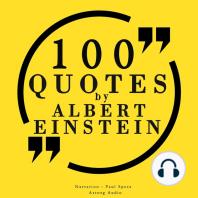 100 Quotes by Albert Einstein
