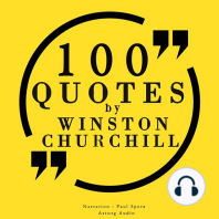 100 Quotes by Winston Churchill