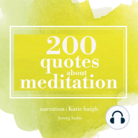 200 Quotes for Meditation