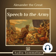 Speech to the Army