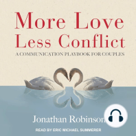 More Love, Less Conflict