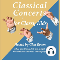 Classical Concerts for Classy Kids: Lecture 1: Mozart's String Quartet 575