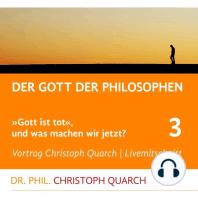 Der Gott der Philosophen
