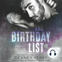 The Birthday List