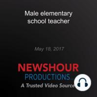 Male elementary school teacher