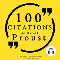 100 citations de Marcel Proust