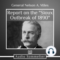 """Report on the """"Sioux Outbreak of 1890"""""""