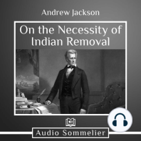 On the Necessity of Indian Removal