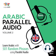 Arabic Parallel Audio