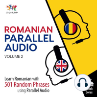 Romanian Parallel Audio