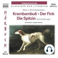 Krambambuli / Der Fink / Die Spitzin