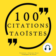 100 citations taoïstes