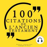 100 citations de l'Ancien Testament