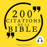 200 citations de la Bible