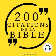 200 citations de la Bible