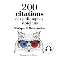 200 citations des philosophes stoïciens