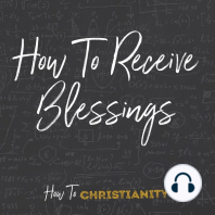 How to Receive Blessings