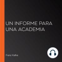 Un informe para una academia
