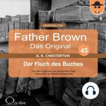 Father Brown 45 - Der Fluch des Buches (Das Original)