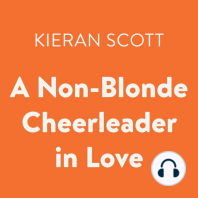 A Non-Blonde Cheerleader in Love: The Cheerleader Trilogy, Book 3