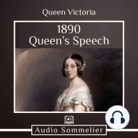 1890 Queen's Speech