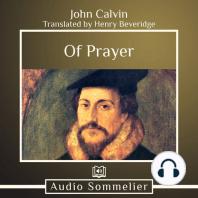 Of Prayer