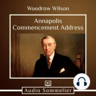 Annapolis Commencement Address