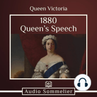 1880 Queen's Speech