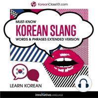 Learn Korean: Must-Know Korean Slang Words & Phrases