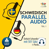 Schwedisch Parallel Audio - Einfach Schwedisch lernen mit 501 Sätzen in Parallel Audio - Teil 1