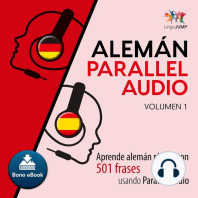 Alemán Parallel Audio – Aprende alemán rápido con 501 frases usando Parallel Audio - Volumen 1