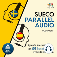 Sueco Parallel Audio – Aprende sueco rápido con 501 frases usando Parallel Audio - Volumen 1
