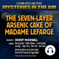 The Seven-Layer Arsenic Cake Of Madame Lefarge