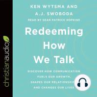 Redeeming How We Talk