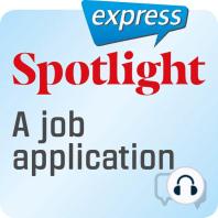Spotlight express – Kommunikation – Eine Bewerbung
