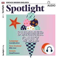 Englisch lernen Audio - Sommerquiz