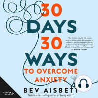 30 Days 30 Ways to Overcome Anxiety