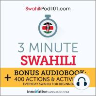 3-Minute Swahili