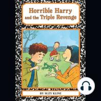 Horrible Harry and the Triple Revenge: Horrible Harry, Book 20