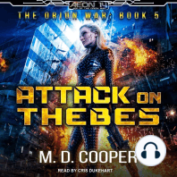 Attack on Thebes: The Orion War, Book 5