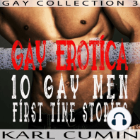 Gay Erotica: 10 Gay Men First Time Stories
