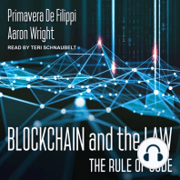 Blockchain and the Law