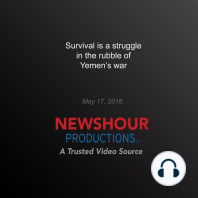 Survival is a struggle in the rubble of Yemen's war