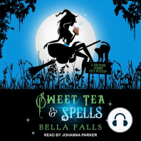 Sweet Tea & Spells: A Southern Charms Cozy Mystery