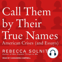 Call Them By Their True Names