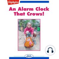 An Alarm Clock That Crows!