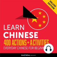Everyday Chinese for Beginners - 400 Actions & Activities