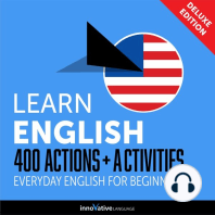 Everyday English for Beginners - 400 Actions & Activities